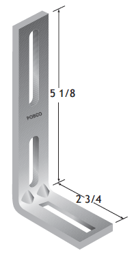 Stainless Steel Guide Rail Bracket
